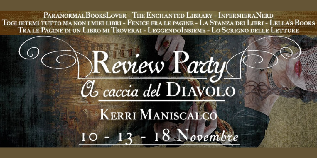 banner review party a caccia del diavolo