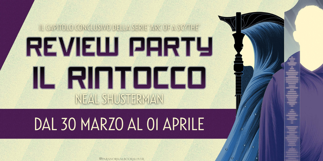 Banner Review Party Il Rintocco di Neal Shusterman